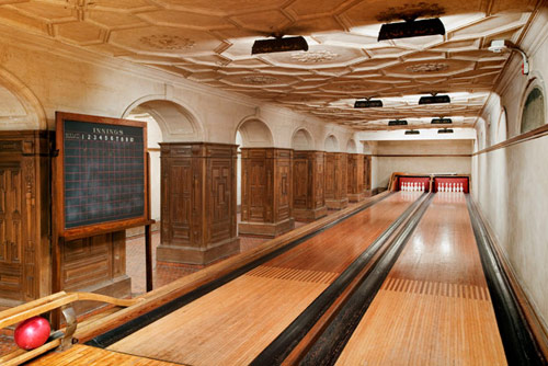 Frick Secret Bowling Alley