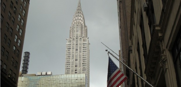 'Like the top of the Chrysler building' – cue Annie and the orphans. Every time I say the name 'Chrysler Building' the musical Annie goes through my head. Good, bad?...