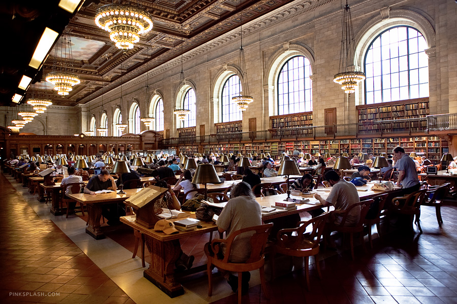 New York Public Library Hall