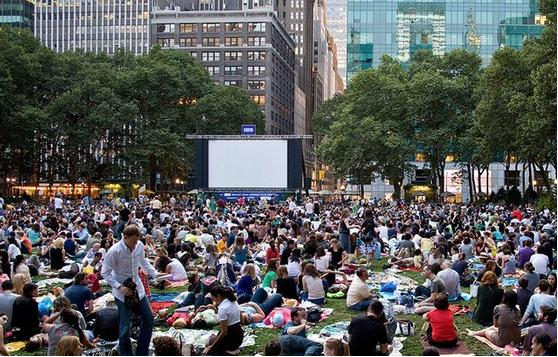 Movies at Bryant Park