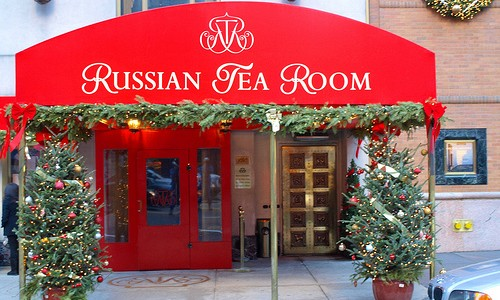 Since being founded by members of the Russian Imperial Ballet in 1927, The Russian Tea Room has been known for both celebrities, fine dining, and its classic Russian decor. Walk...