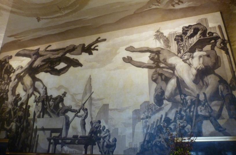 rockefeller mural