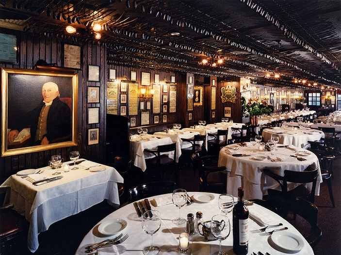 58 pipe up at keens steakhouse for Best dining rooms nyc
