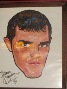 Antonio Banderas caricature