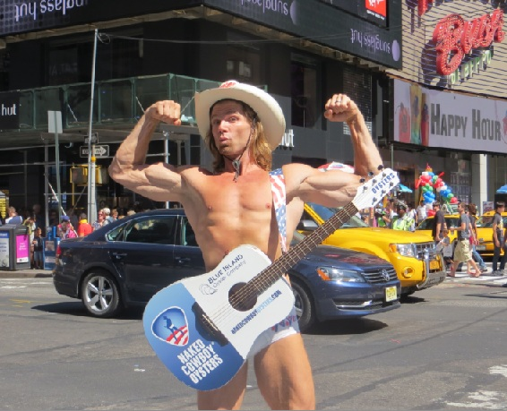 The naked cowboy new york foto 38