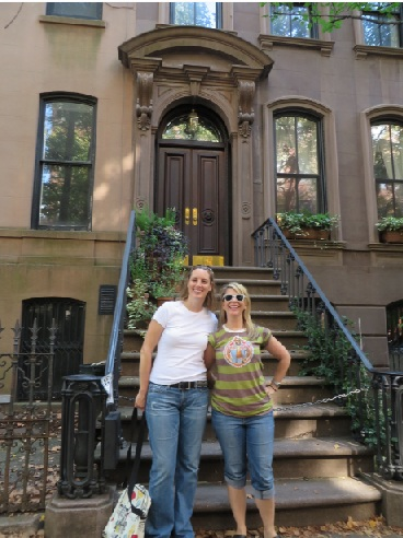 Carrie Bradshaw House And Stoop