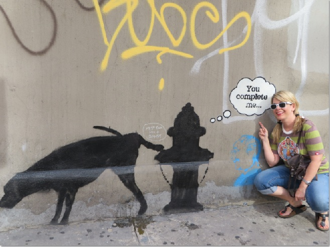 119 banksy in new york 1000 things to do new york for Banksy rat mural