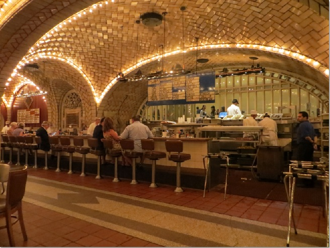#127: Grand Central Oyster Bar - 1000 Things to do New York
